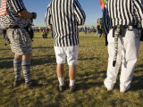 Referees Dress Up at a Hot Air Balloon Festival