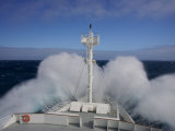National Geographic Endeavour Breaking Through Big Waves on the Drake Passage