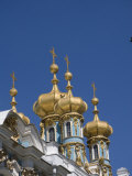 Domes Above the Catherine Palace Outside St Petersburg