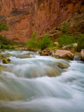 Travertine Cascades Along Havasu Creek  Grand Canyon National Park
