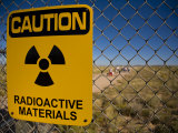 Sign Warning of Radioactive Materials at the Trinity Site