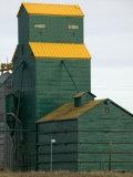 Exterior of a Grain Elevator