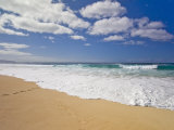 Wave Set Coming in at the Bonzai Pipeline on Oahu's North Shore
