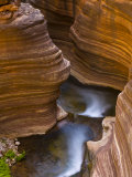 Cascades Along Deer Creek in Slot Canyon  Grand Canyon National Park