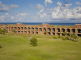 View Inside the Courtyard of Fort Jefferson  Dry Tortugas