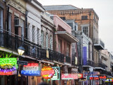 Bourbon Street at Dusk