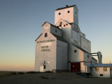 Exterior of Grain Elevators
