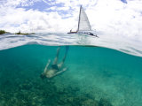 Teenage Girl Snorkeling