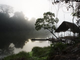 Morning Fog over a Peruvian Rain Forest River