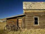 Rancher's House in Prairie Semi-Ghost Town