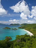 Beautiful View of Trunk Bay in St John