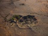 One of Twelve Craters Inside Henbury Meteorites Conservation Reserve