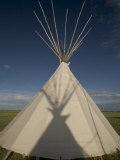 Teepee at Ft Union Trading Post National Historic Site Rendezvous