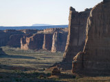 Courthouse Towers Region in Arches National Park  Utah
