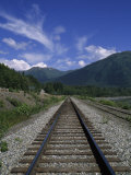 Railroad Track on Turnagain Arm