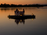 Floating Dinner at Sunset on the Zambezi River