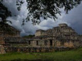 Ruins of the Mayan City of Ek Balam