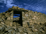 Crumbling Walls of Chanquillo Dated Archeological Site 350 Bc