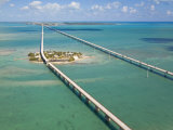 Seven Mile Bridge Crossing Pigeon Key and Connecting the Florida Keys