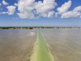 Path Carved Through Waters Off Marathon Key for Access to Atlantic