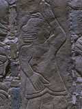 Pre-Columbian Reliefs in Stone at the Sechin Ruins Dating 1600 BC