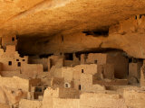 Ruins of the Anasazi Cliff Palace in Mesa Verde National Park