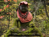 Jizo Statue on the Trail to Urami Falls