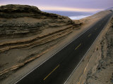 Pan American Highway Running Along Peru's Pacific Coast