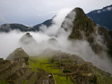 Cloud Shrouded Machu Picchu