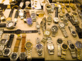 Case of Watches in Pawn Shop