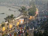 Mumbai Marathon Along Marine Drive