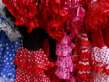 Sevillanas or Flamenco Dresses