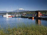 Villarrica Is a City in Southern Chile Located on the Western Shore of Villarrica Lake