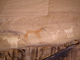 Pictograph at an Ancient Native American Site