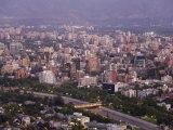 Santiago  Chile Newer North East Suberbs of the Growing City