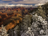 Fresh Snow at the South Rim  Grand Canyon National Park