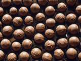 Large Group of Chocolates Which All Look the Same Except for One