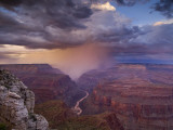 Monsoon Storm in the Grand Canyon