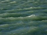Waves Near Boca Chita Key in Biscayne National Park  Florida
