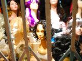Wigs in Store Front Window in San Francisco