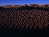 Wind and Water Sculpted Desert in the Valle De La Luna