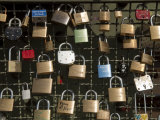 Love Padlocks on the Hohenzollern Bridge in Cologne  Germany
