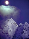 Moonrise over 6828-Meter Ama Dablam