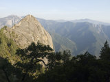 Sierra Mountians from the Top of the 6 725 Foot Moro Rock