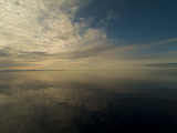 Serene View of Still Water under the Arctic Sky