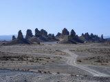 Tufa Spires in Trona Pinnacles National Landmark  California