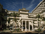 Historic Moana Hotel in Waikiki  Built before 1920