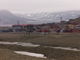 Small Settlement in Svalbard  Norway