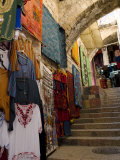 Jerusalem  Israel  Stairway in Old City Market