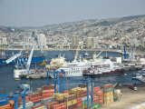 View of the Port of Valparaiso